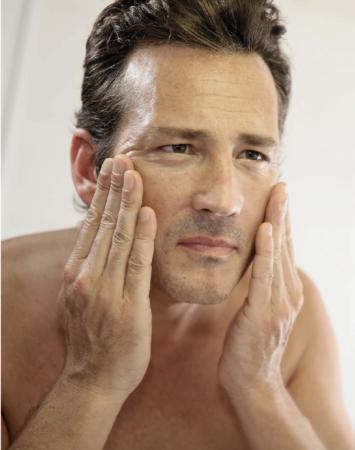 La cosmétique chez l'homme